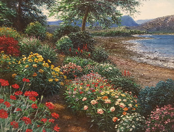 Mitchell Highlands 30x40 Super Huge Original Painting - Henry Peeters