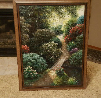 Olin Highlands 40x30 Original Painting - Henry Peeters