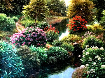 Whittington Pond 1998 Limited Edition Print - Henry Peeters