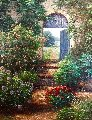 Hazelton Farm  41x35 Original Painting - Henry Peeters