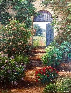 Hazelton Farm  41x35 Original Painting by Henry Peeters