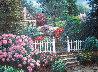 Watkins Gate 38x48 Original Painting by Henry Peeters - 2