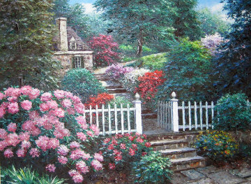 Watkins Gate 38x48 Original Painting - Henry Peeters