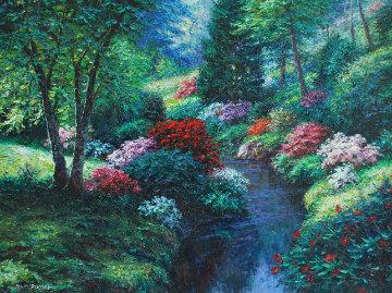 Pembroke Valley 40x50 Super Huge Original Painting - Henry Peeters