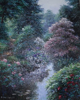 Southerland Trail 2000 38x32 Huge Original Painting by Henry Peeters - 0
