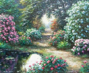 Browning Trail 34x40 Original Painting by Henry Peeters