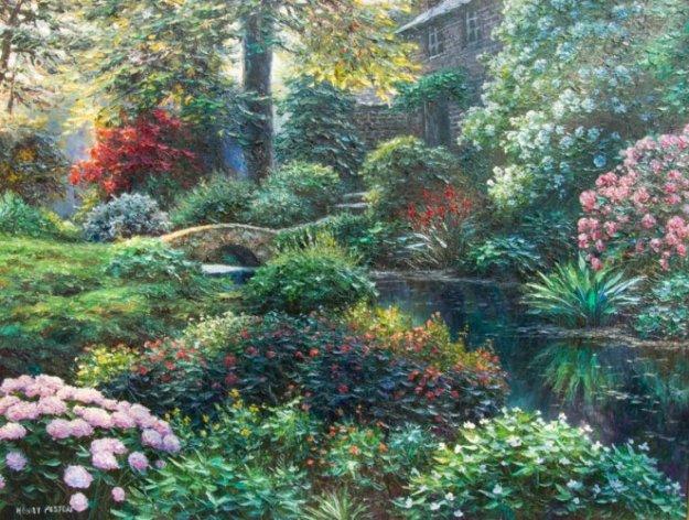 Corning Manor 30x40 Original Painting by Henry Peeters