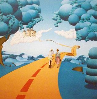 Le Cliche PP 1977 Limited Edition Print - Michel Pellus
