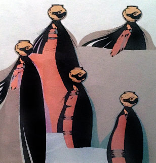 Portaduras 1980 Limited Edition Print by Amado Pena