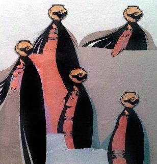 Portaduras 1980 Limited Edition Print - Amado Pena