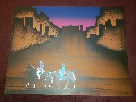 Paseo Del Valle 1985 Limited Edition Print by Amado Pena - 1