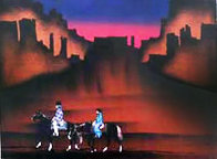 Paseo Del Valle 1985 Limited Edition Print by Amado Pena - 0