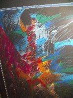 Mujer De Colores Dos 1988 50x30 Super Huge  Original Painting by Amado Pena - 2