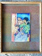 La Ventana De MI Tierra 1998 21x17 Drawing by Amado Pena - 1