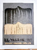 Ano Uno, El Taller March Poster 1981 Limited Edition Print by Amado Pena - 1