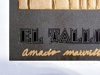 Ano Uno, El Taller March Poster 1981 Limited Edition Print by Amado Pena - 2