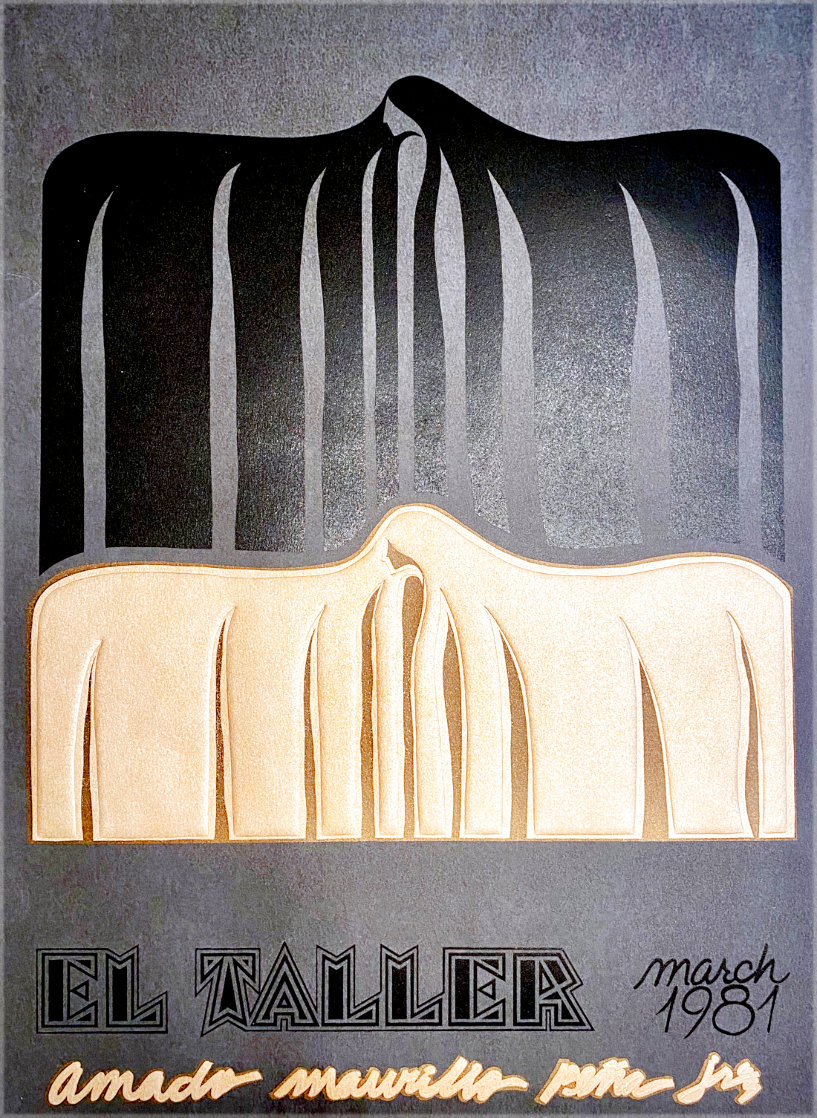 Ano Uno, El Taller March Poster 1981 Limited Edition Print by Amado Pena