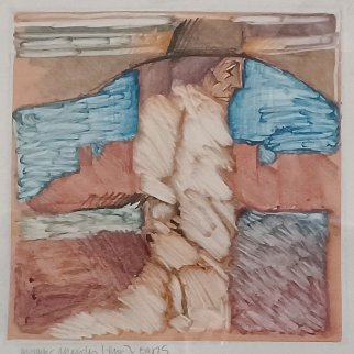 Untitled Monotype Works on Paper (not prints) - Amado Pena
