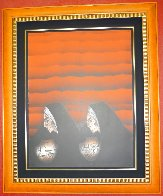 Dos Ollitas (Agua) 1984 Limited Edition Print by Amado Pena - 1