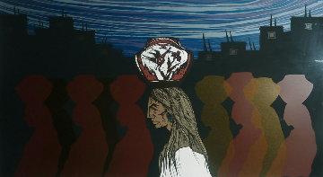 Una Y Sombras 1984 Limited Edition Print by Amado Pena