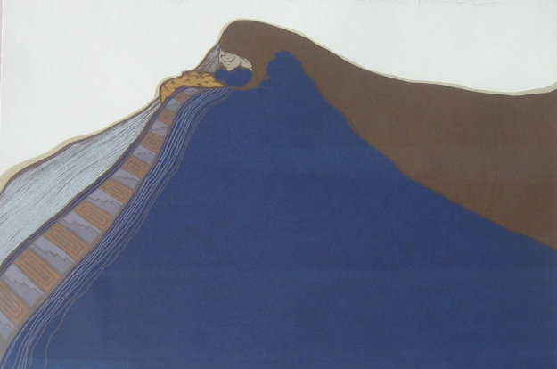 Azul 1981 Limited Edition Print by Amado Pena