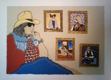 Tc Y Yo 1981 Limited Edition Print by Amado Pena