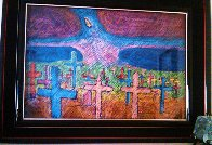 Graveyard And Spirit of Renewal Pastel 29x44 Works on Paper (not prints) by Amado Pena - 3