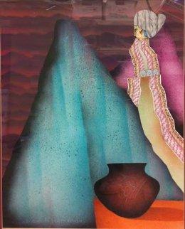 La Elegante 32x25 Original Painting by Amado Pena