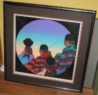 Paseo De Las Negra 1986 Limited Edition Print by Amado Pena - 1