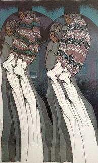 El Chotis Limited Edition Print by Amado Pena