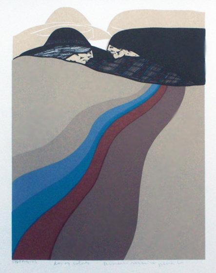 Dos Y Colores 1981 Limited Edition Print by Amado Pena