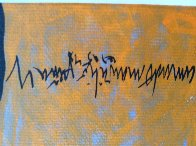 Mestizo Series:  Dos De Acoma 2005 Original Painting by Amado Pena - 2