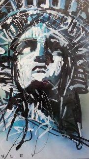 Liberty 2013 54x39 Original Painting - Steve Penley