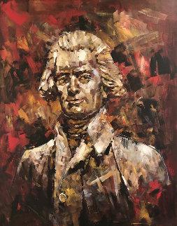 Thomas Jefferson 2007 48x36 Original Painting - Steve Penley