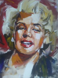 Marilyn 30x16 Original Painting by Steve Penley