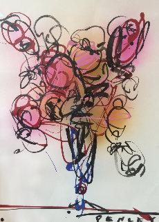 Untitled Bouquet 24x19 Original Painting - Steve Penley