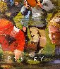 Children Playing 2000 60x84 Original Painting by Steve Penley - 5