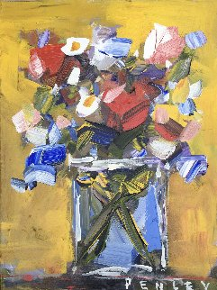 Untitled Still Life 2000 18x24 Original Painting by Steve Penley
