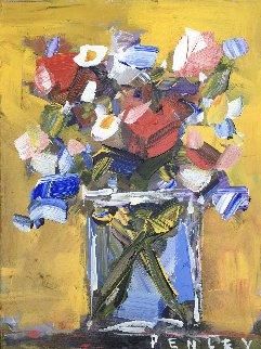 Untitled Still Life 2000 18x24 Original Painting - Steve Penley