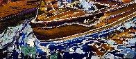 Vintage Boats 2020 24x24 Original Painting by Steve Penley - 2