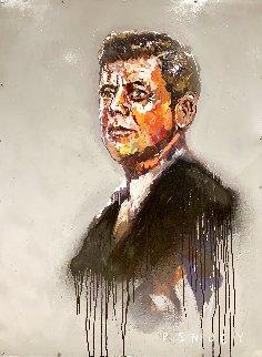 JFK  2014 48x36 Original Painting - Steve Penley