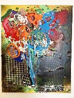 Floral 4 2015 20x16 Original Painting by Steve Penley - 1
