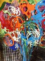 Floral 4 2015 20x16 Original Painting by Steve Penley - 2