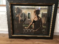 Balcony At Buenos Aires V Embellished 2007 Limited Edition Print by Fabian Perez - 1