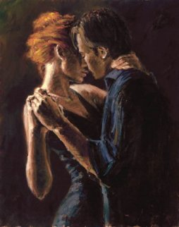 Baladas En Buenos Aires Embellished 2004 Limited Edition Print by Fabian Perez