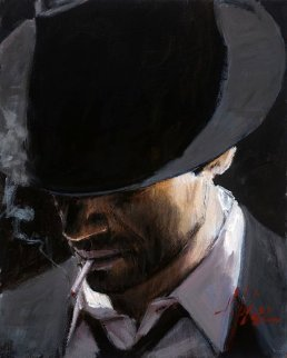 Black Hat 2005 Limited Edition Print - Fabian Perez