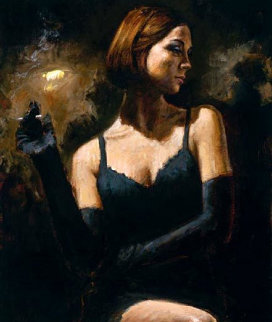 Black Gloves II Limited Edition Print - Fabian Perez