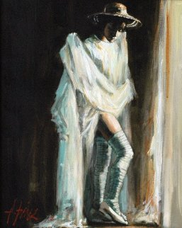 Catalina By the Window AP 2005 Limited Edition Print by Fabian Perez