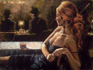 Cynzia At Las Brujas 2005 Limited Edition Print - Fabian Perez