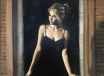 Balcony At Buenos Aires VII AP 2006 Super Huge Limited Edition Print - Fabian Perez